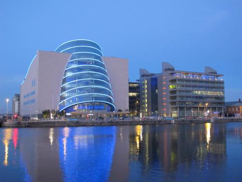 the Dublin Docklands Convention Centre