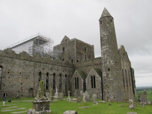 Round tower in the Rock of Cashel