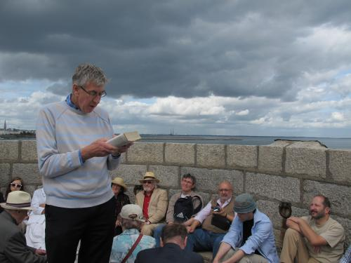 The public readings of the book Ulysses