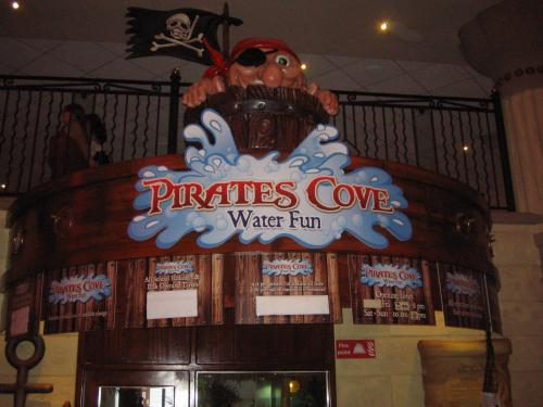 Entrance to to the Pirates Cove on Water Park