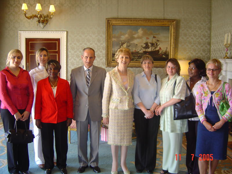 a group portret with mary mcaleese