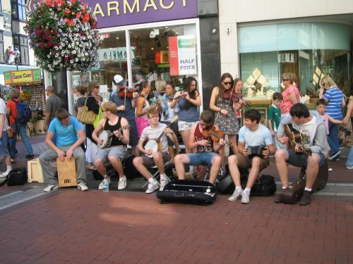 On th Grafton Street