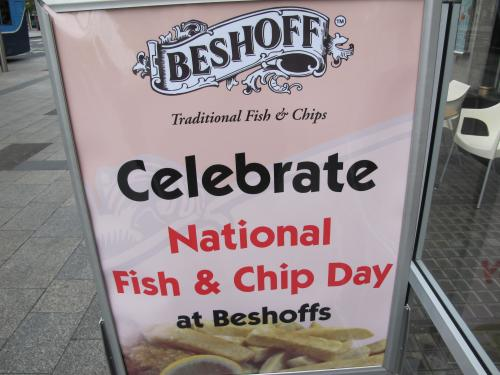 celebrate national fish and chip day